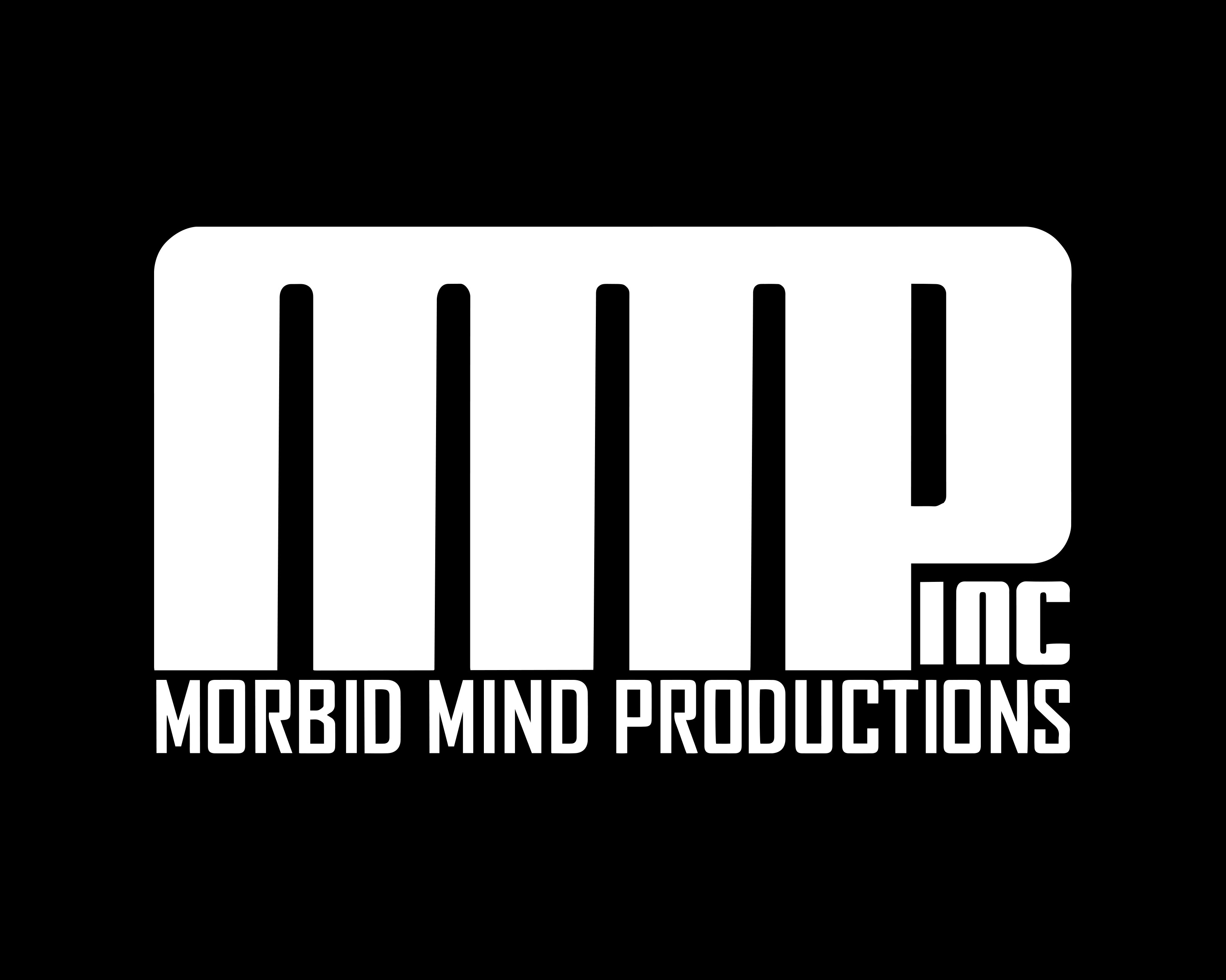 Morbid Mind Productions Black Logo 2016